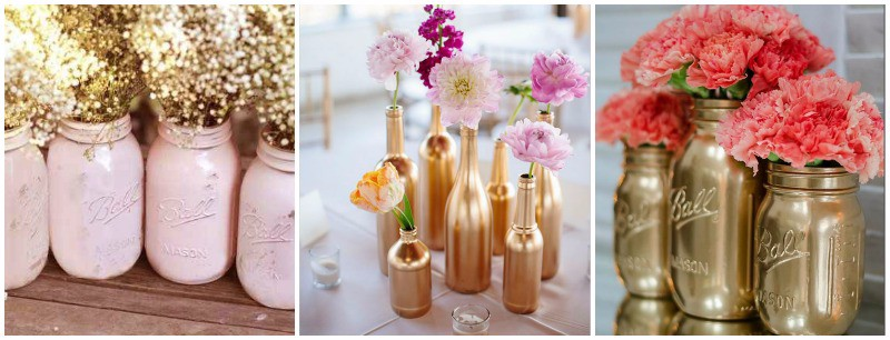 Reciclemos todos los frascos silenblogger - Diy frascos decorados ...
